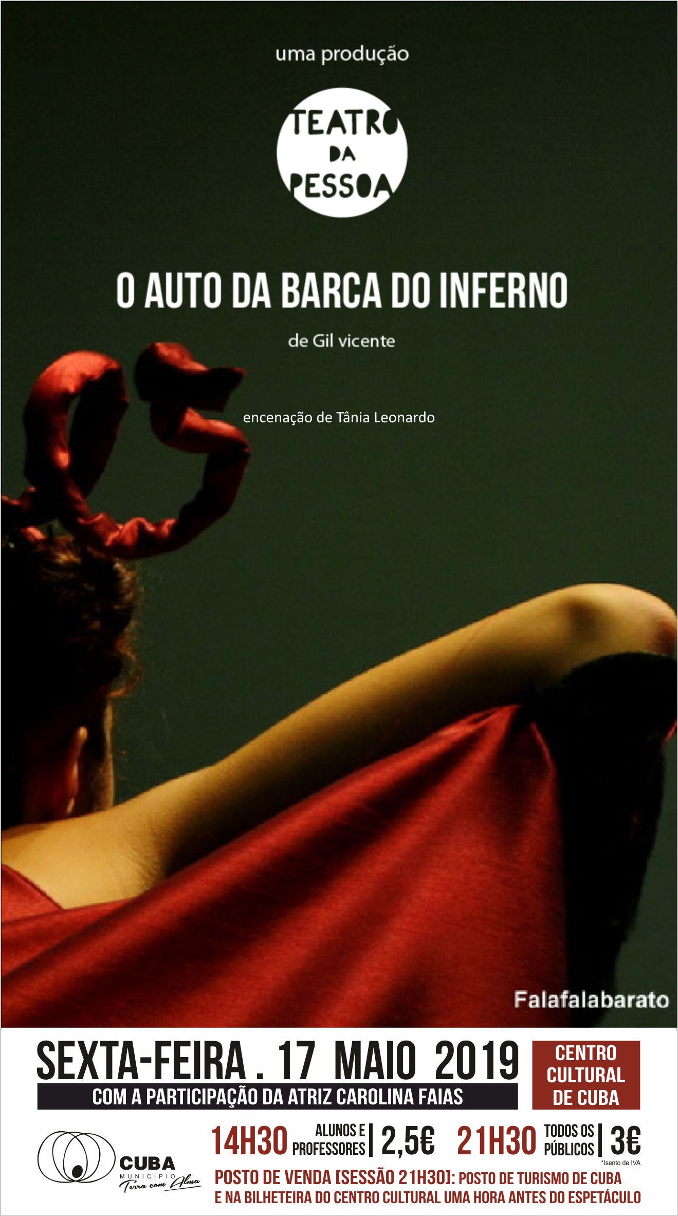 CARTAZ AUTO DA BARCA DO INFERNO