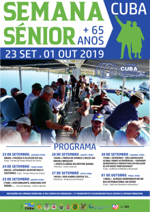 SEMANA SÉNIOR 2019 CARTAZ